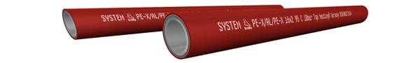 Kompozitná 5-vrstvová rúrka Top heating®
